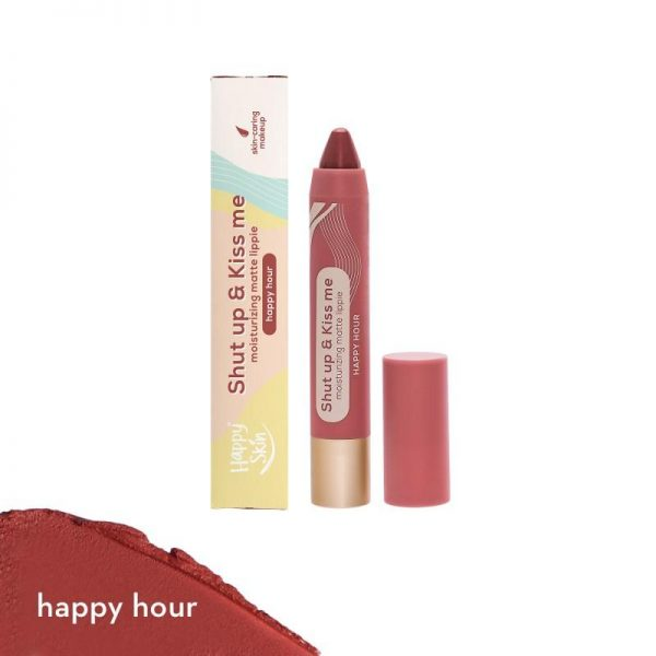 Happy Skin Shut Up & Kiss Me Moisturizing Matte Lippie - Happy Hour