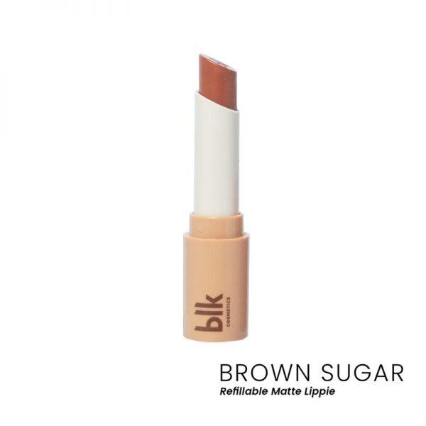 blk cosmetics Lip Switch Matte Lippie - Brown Sugar