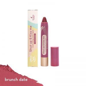 Happy Skin Shut Up & Kiss Me Moisturizing Matte Lippie - Brunch Date