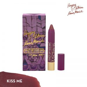 Happy Skin Love Marie Shut Up & Kiss Me Moisturizing Matte Lippie - Kiss Me