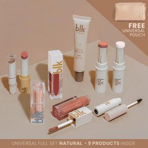 blk cosmetics Universal Full Set With Pouch - Natural