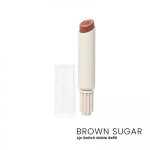 blk cosmetics Lip Switch Matte Lippie Refill - Brown Sugar