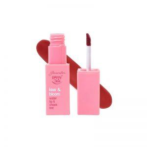 Happy Skin Kiss & Bloom Water Lip & Cheek Tint - Sassy