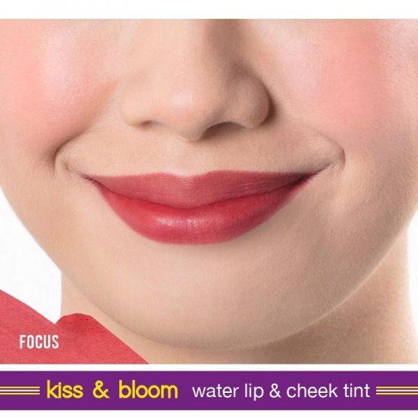 Happy Skin Active Kiss & Bloom Water Lip & Cheek Tint - Focus