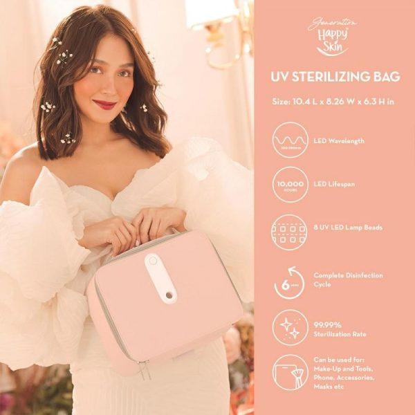 Happy Skin Bloom UV Bag Full Set