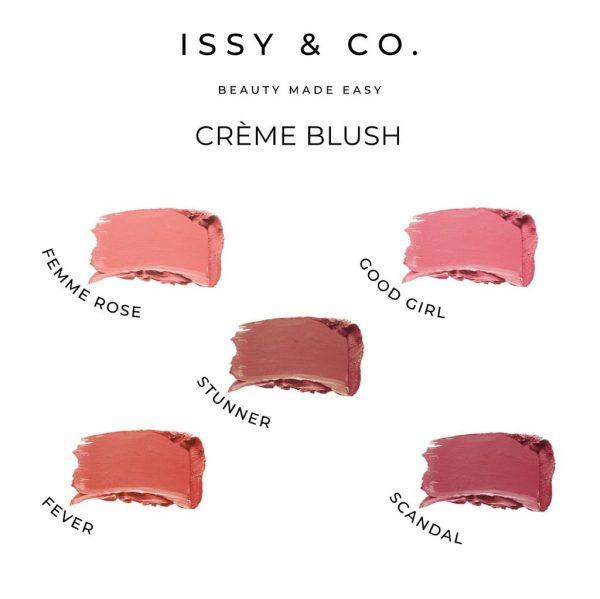 Issy & Co. Creme Blush - Stunner