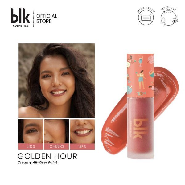 blk cosmetics Fresh Sunkissed Creamy All-Over Paint - Golden Hour