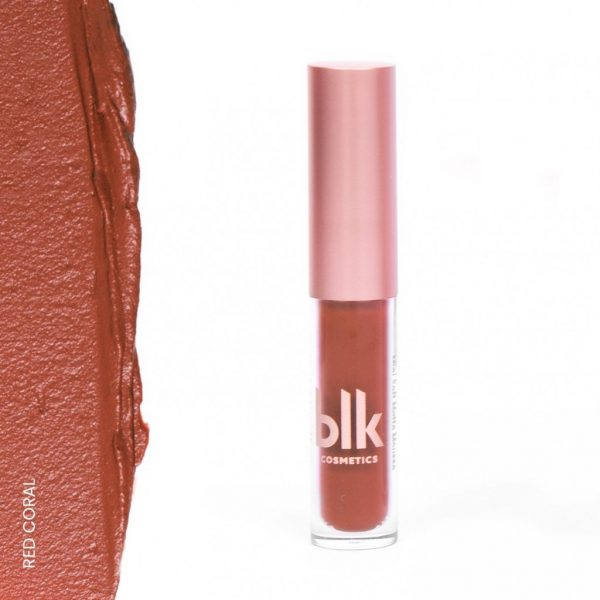 blk cosmetics Holiday Mini Soft Matte Mousse - Red Coral