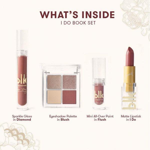 blk cosmetics Bridal Book Set - I do