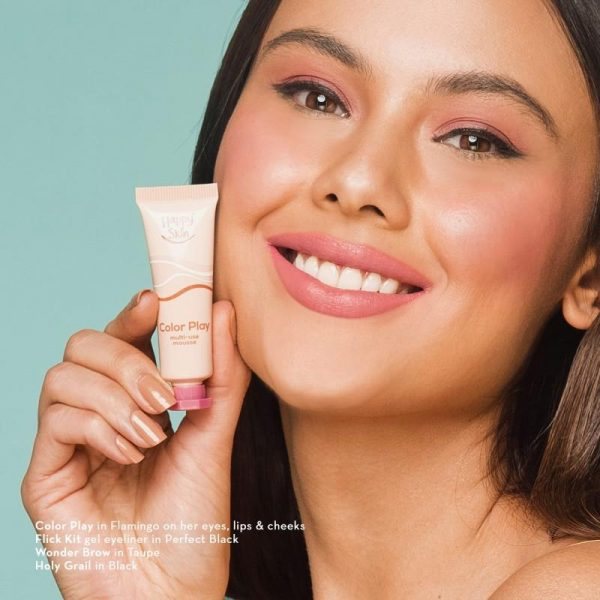 Happy Skin Color Play Multi-Use Mousse - Flamingo