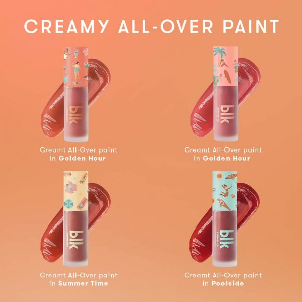 blk cosmetics Fresh Sunkissed Creamy All-Over Paint - Poolside