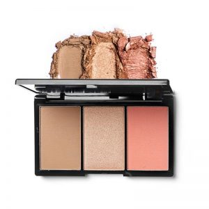 blk cosmetics Contour, Blush and Highlight Palette - Sun-kissed