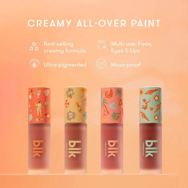 blk cosmetics Fresh Sunkissed Creamy All-Over Paint - Palm Springs