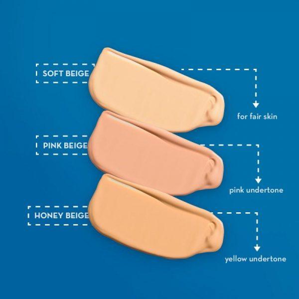 Happy Skin Ready To Glow Anti E-Aging Liquid Foundation - Pink Beige