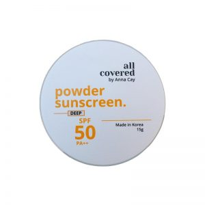 All Covered by Anna Cay Powder Sunscreen - Deep