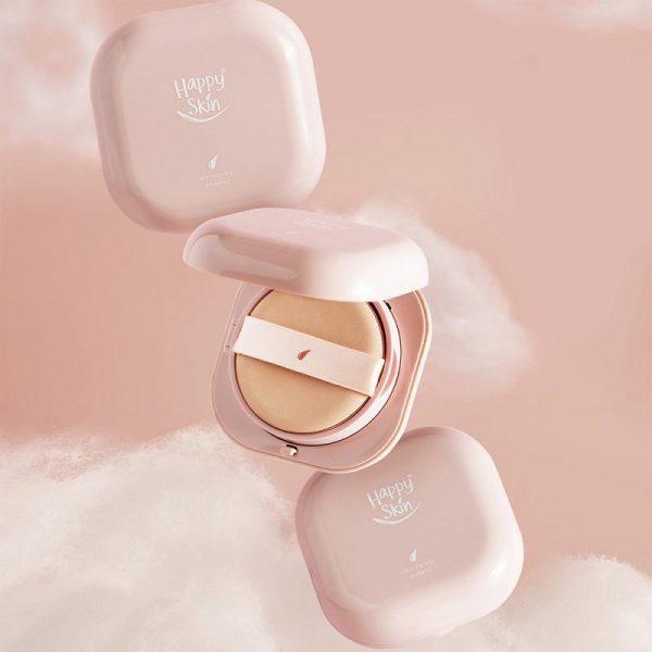 Happy Skin Second Skin Serum Cushion Foundation - Soft Beige