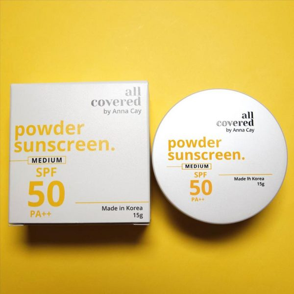 All Covered by Anna Cay Powder Sunscreen - Medium