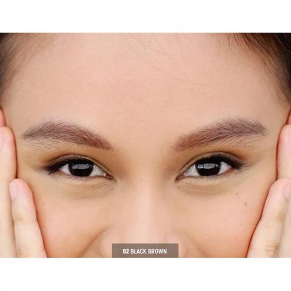 KJM Cosmetics BROW. DEFINE. - 02 Black Brown