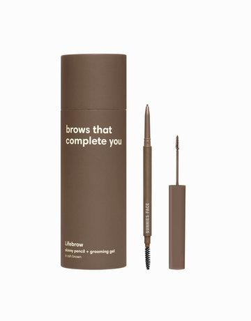 Sunnies Face Lifebrow Duo skinny pencil + grooming gel - Ash Brown