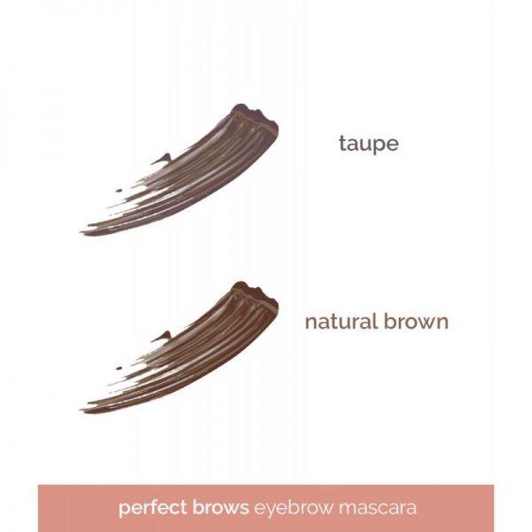 Happy Skin Perfect Brows Eyebrow Mascara - Natural Brown