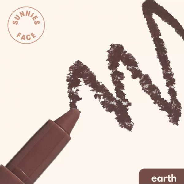 Sunnies Face Eyecrayon Do-It-All Eyeshadow Stick - Earth