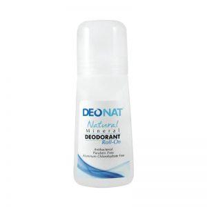 Deonat Natural Mineral Deodorant Roll-On 65ml