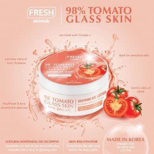 Fresh Philippines Tomato Glass Skin Soothing Gel Lotion