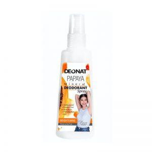 Deonat Natural Papaya Deodorant Spray 100ml