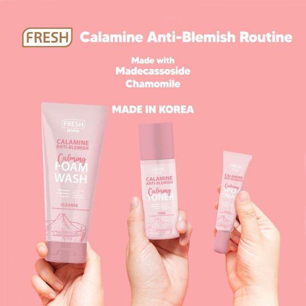 Fresh Philippines Calamine Anti Blemish Calming Foam Wash