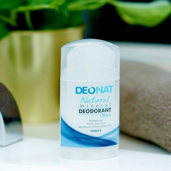 Deonat Natural Mineral Deodorant Stick 100g