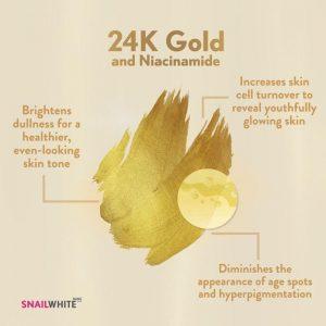 SNAILWHITE Whipp Soap Gold