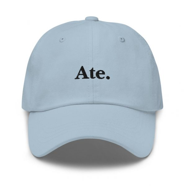 Ate Filipino Dad Hat BLACK/WHITE EMBROIDERED - Funny Filipino Gift - Pinoy - Pinay - Philippines - Filipino American - Gift for your Ate!