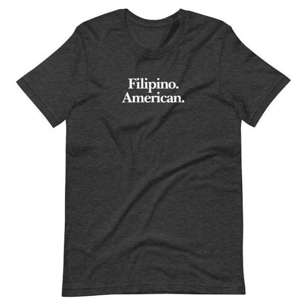 Filipino American Shirt Premium Unisex/Men's - Funny Filipino Clothing - Pinoy - Philippines - Asian Pacific American Month - Filipino Gift