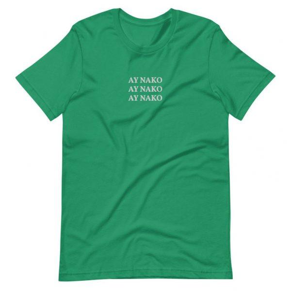 "Filipino Shirt ""AY NAKO"" Embroidered Premium Unisex/Men - Funny Filipino Clothing - Pinoy Pinay Phillippines - Filipino American - Nanay"