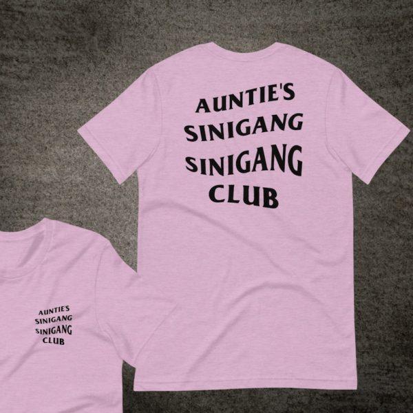 Filipino Shirt Auntie's Sinigang Sinigang Club Premium Unisex/Men's - Funny Clothing - Heritage - Food - Phillippines Streetwear Parody