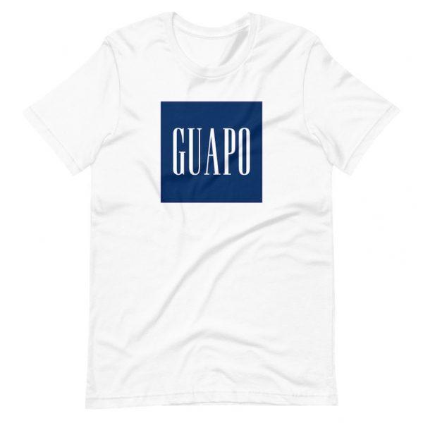 Filipino Shirt GUAPO Blue Square Premium Unisex/Men's - Funny Clothing - Pinoy - Pinay - Phillippines - Filipino American - Parody