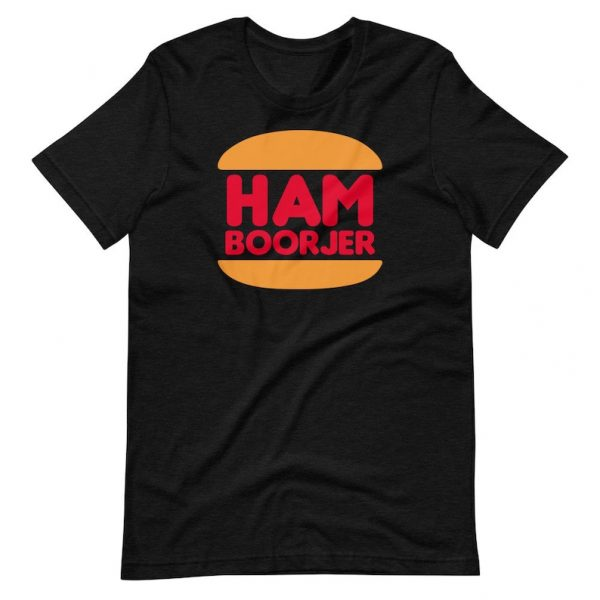 Filipino Shirt Ham Boorjer Premium Unisex/Men's - Funny Clothing - Pinoy - Pinay - Phillippines - Filipino Accent - Burger King Parody