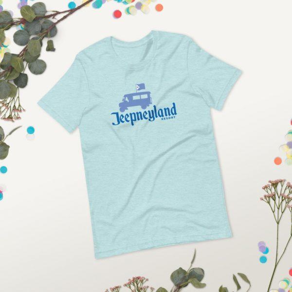 Filipino Shirt Jeepneyland Disney Premium Unisex/Men's - Funny Clothing - Pinoy - Pinay - Phillippines - Filipino Accent - Disneyland Parody