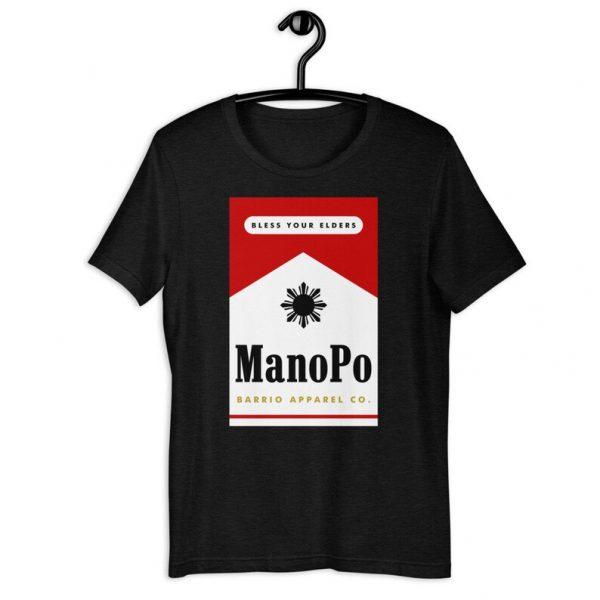 Filipino Shirt Mano Po Premium Unisex/Men's - Funny Filipino Clothing - Pinoy - Pinay - Phillippines - Filipino American - Cigarette Pack