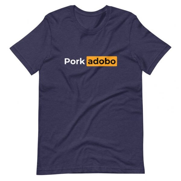 Filipino Shirt Pork Adobo Premium Unisex/Men's - Funny Clothing - Pinoy - Pinay - Phillippines - Filipino Filipina - Pornhub Parody