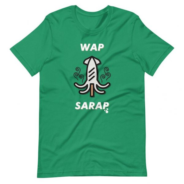 Filipino Shirt Pusit WAP Premium Unisex/Men's - Filipino Gift - Funny - Pinoy Pinay - Phillippines - Filipino Clothing - Cardi B WAP Parody