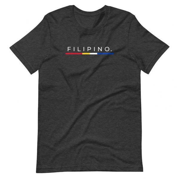Filipino Shirt Simple Premium Unisex/Men's Gift - Filipino Flag Colors - Pinoy - Pinay - Philippines - Filipino American - Filipino Canadian