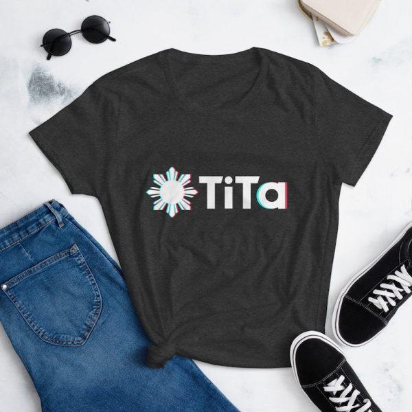 Filipino Shirt TiTa Women's TikTok Funny Premium for Filipino Gift - Filipino Clothing - Filipino American - Pinay - Auntie TikTok Parody
