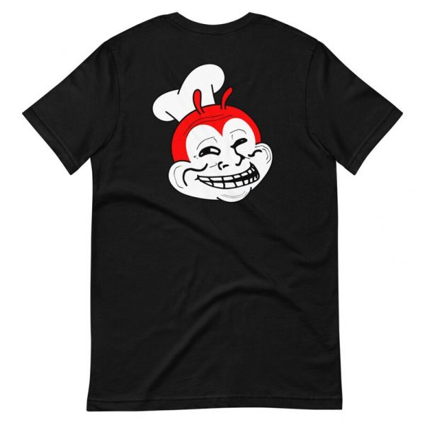 Filipino Shirt Trollibee BACKSIDE Premium Unisex/Men's - Funny Filipino Clothing - Pinoy - Pinay - Phillippines - Jollibee Parody