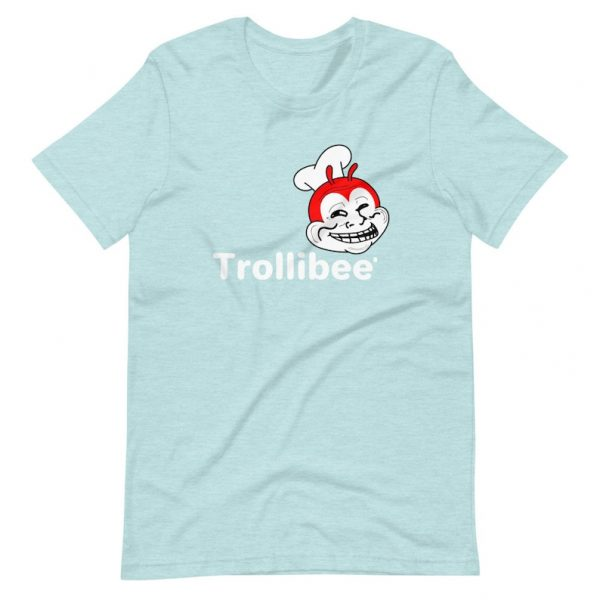 Filipino Shirt Trollibee Premium Unisex/Men's - Funny Clothing - Pinoy - Pinay - Phillippines - Filipino Filipina - Jollibee Parody