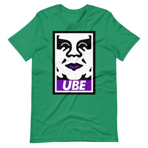 Filipino Shirt UBE Premium Unisex/Men's - Filipino Gift - Funny Filipino - Pinoy - Pinay - Phillippines - Filipino Clothing - OBEY Parody