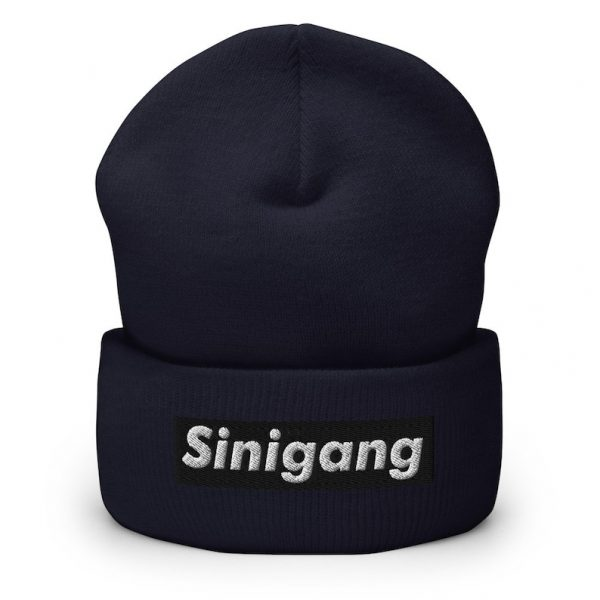 Filipino Sinigang Cuffed Beanie - Filipino - Funny Filipino - Pinoy - Pinay - Phillippines - Filipino American - Sinigang Parody - Tagalog