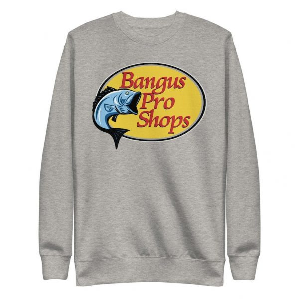 Filipino Sweatshirt Bangus Pro Shops Unisex - Funny Filipino Clothing - Filipino American Streetwear Clothes- Parody Shirt - Filipino Gift