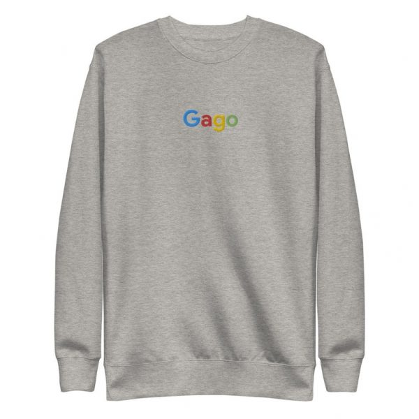 Filipino Sweatshirt Embroidered Gago Unisex Funny Filipino Clothing - Filipino American Streetwear - Search Engine Parody - Filipino Gift