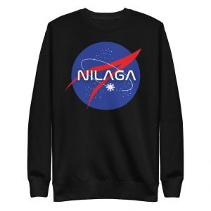 Filipino Sweatshirt Nilaga Premium Unisex/Men's  - Funny Filipino Clothing - Pinoy - Pinay - Phillippines - Filipino American - Space Parody